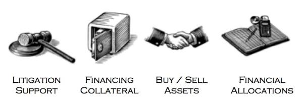 manufacturing equipment appraisal